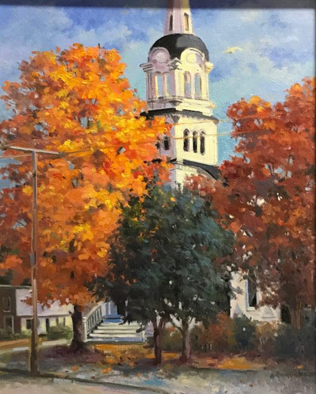 Artwork Autumn Splendor by Alice Ingraham