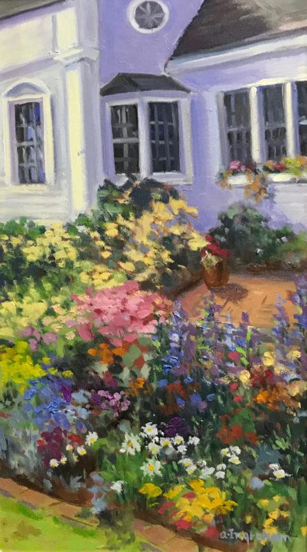 Artwork Cottage Garden by Alice Ingraham