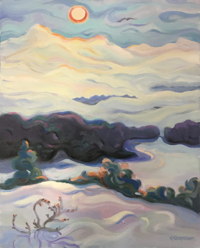 Artwork Meandering by Alice Ingraham