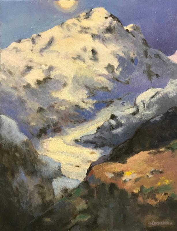 Artwork Alps Glacier by Alice Ingraham