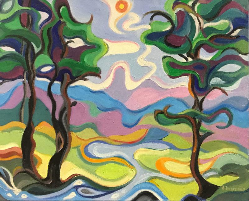 Artwork Penobscot Bay by Alice Ingraham