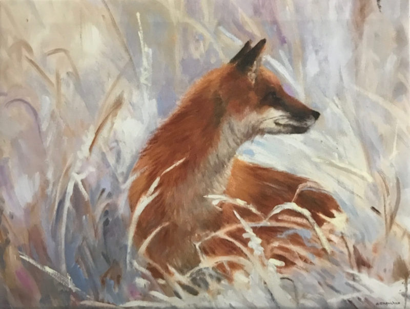 Artwork Hunting by Alice Ingraham