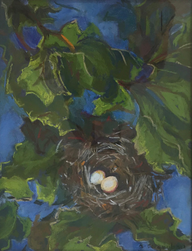 Artwork Gold Finch Eggs by Alice Ingraham
